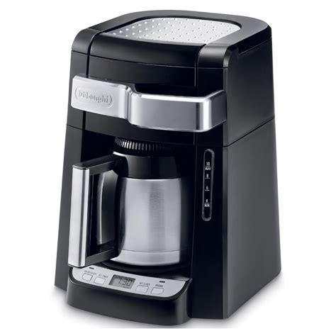 Drip Coffee Maker delonghi dcf2212t 12 cup glass carafe drip