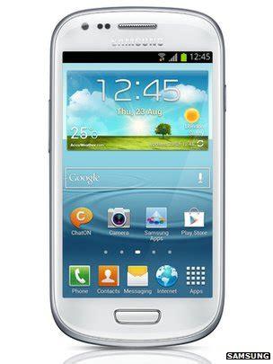 samsung announces galaxy s3 mini smartphone bbc news