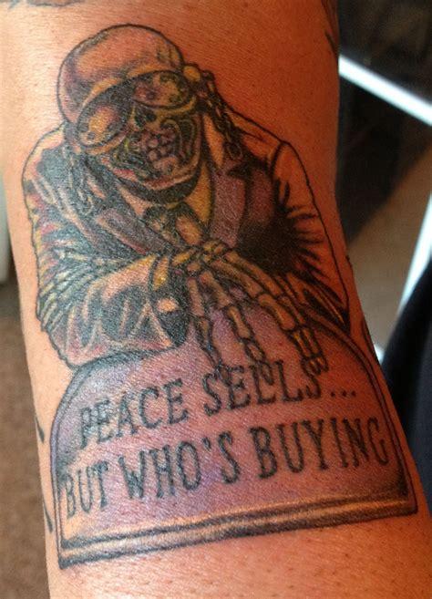 megadeth tattoo designs megadeth quot vic rattlehead quot i got a few months ago