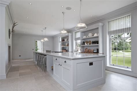 White Kitchen Cabinets With White Appliances Manor House Slough Mystic Kitchen