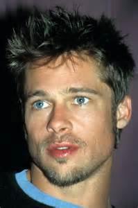 brad pitt eye color brad pitt brown hair and blue before he