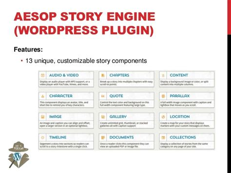 themes for aesop story engine let me tell you a story wordpress as a storytelling tool