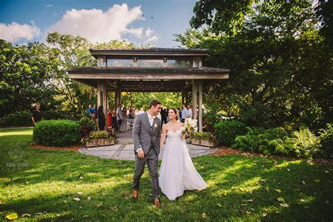 Sara Jared S Selby Gardens Wedding Ta Wedding Selby Botanical Gardens Wedding