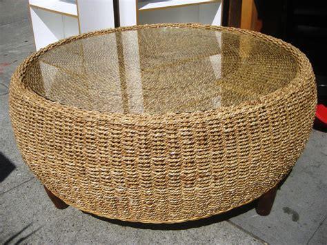 wicker ottoman coffee table coffee table best wicker coffee table ottoman white