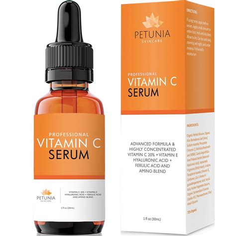 Ser C Serum Vitamin C hyaluronic acid serum with vitamin c for the