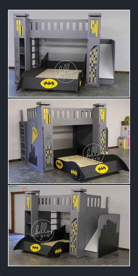 batman bedroom set custom batman toddler bed set batman full over full custom batman bed with slide storage