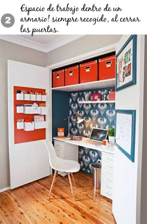 Home Office In A Wardrobe by Nuestra Lista De 10 Estilos De Oficina En Casa