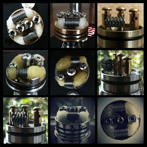 crafty vape tutorial 1000 images about vaping rba coils designs on