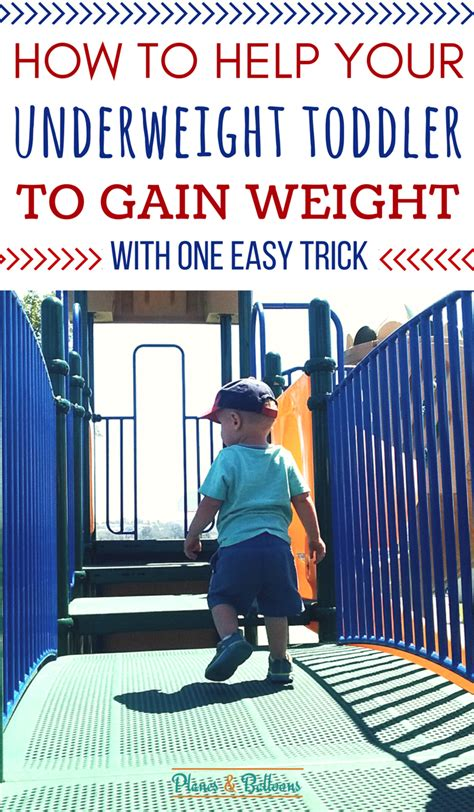 how to get to gain weight how to get your toddler to gain weight with one simple trick