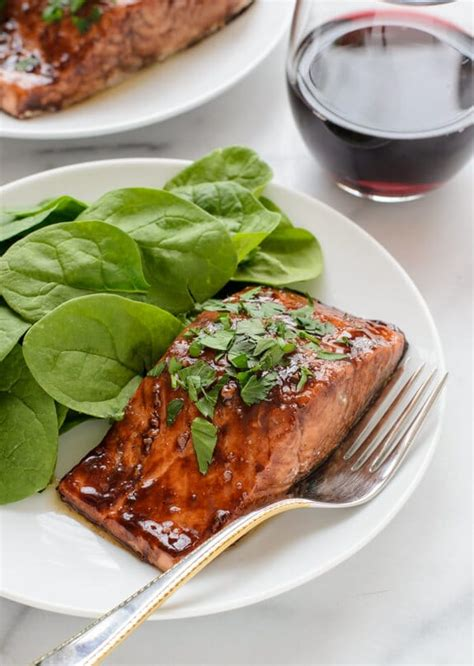 15 dinner recipes well plated by erin balsamic glazed salmon dinner recipe well plated by erin