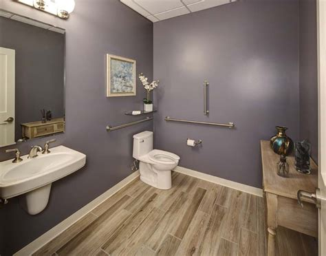 Office Bathroom Decorating Ideas by New Millennium Chiropractic Office Design Womens