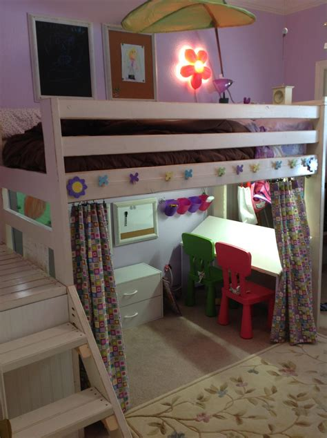 art studio loft bed    home projects
