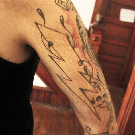 tribal lightning tattoo lightning bolt images