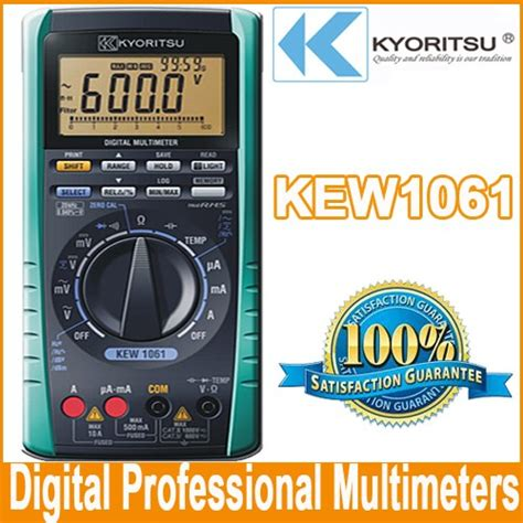 Multimeter Digital Kyoritsu kyoritsu 1061 digital multimeter