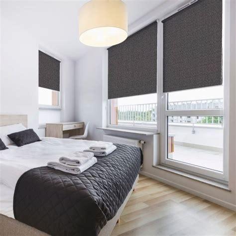 bedroom blinds uk bloc zinc blackout blind premium roller blinds great