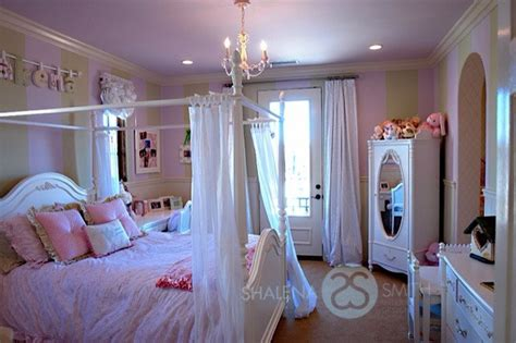 big girl bed princess big girl room with poster bed traditional
