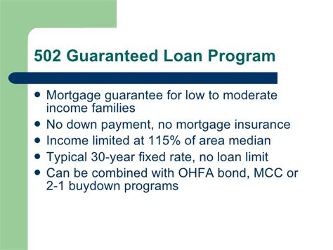 direct rural housing loan program 502 direct rural housing loan 28 images section 502 guaranteed rural housing loan program