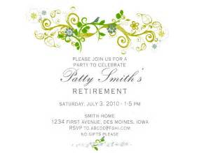 Retirement Invitation Templates Free by Retirement Invitation Template Sle Invitations
