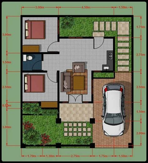 denah desain interior rumah minimalis desain interior rumah minimalis type 45 http