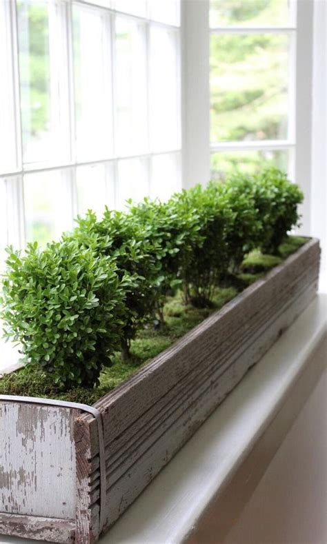 indoor window planter 35 chic ways to rock plants in your interiors digsdigs
