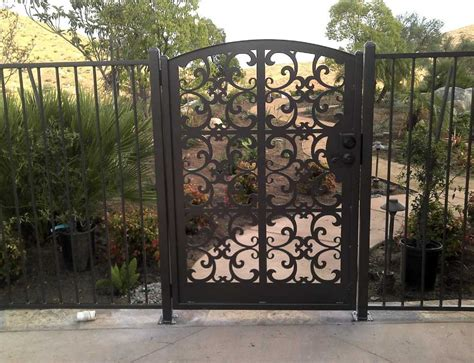 iron gates and fences designs ideas home design
