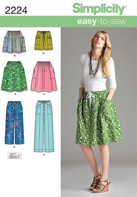 simplicity pattern ease 23 best skirts with pockets images on pinterest skirts