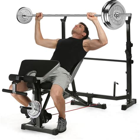 the bench exercise ancheer olympic weight bench multi function workout bench