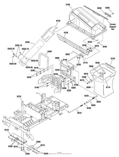 catcher diagram snapper 1696673 00 grass catcher weight kit parts
