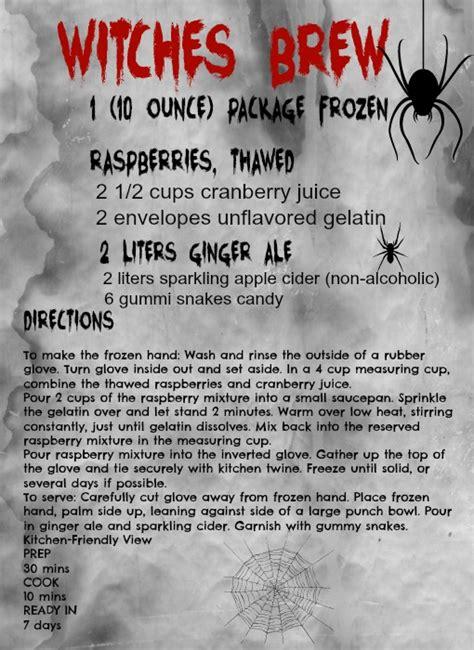 printable homebrew recipes 21 free printables for october debbiedoos