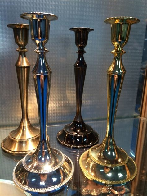 Candle Stand Shopping Free Shopping 4 Color European Holidays Candle Holders
