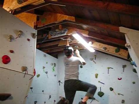 Garage Design Plans by Building A Rock Climbing Wall In The Garage Part 2