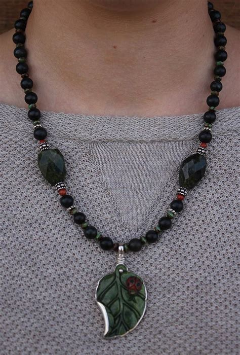 Venetian Glass Ls by Ladybug Necklace By Seidel Seidel S Saddlery