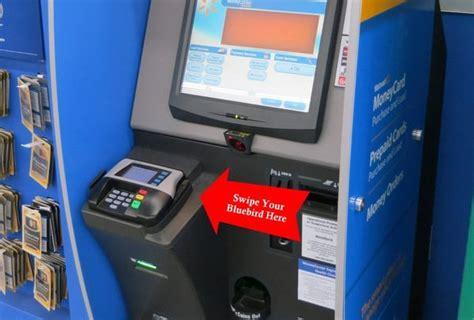 Gift Card Kiosk Walmart - bluebird reload wal mart kiosk million mile secrets