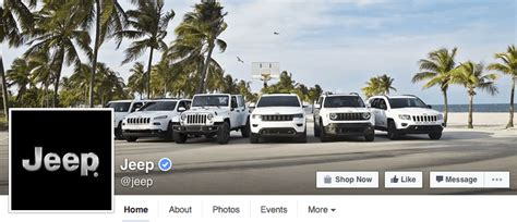 design your dream jeep 26 great facebook landing page exles dreamgrow