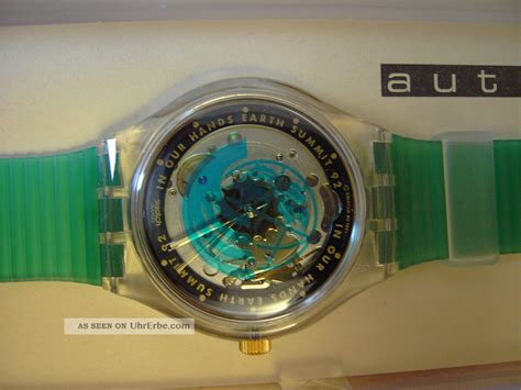 Swatch Seri Aotomatic swatch automatic time to move sak 102 neu ungetragen