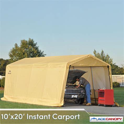 Easy Up Carport Carport Autoshelter 10x20 Instant Garage