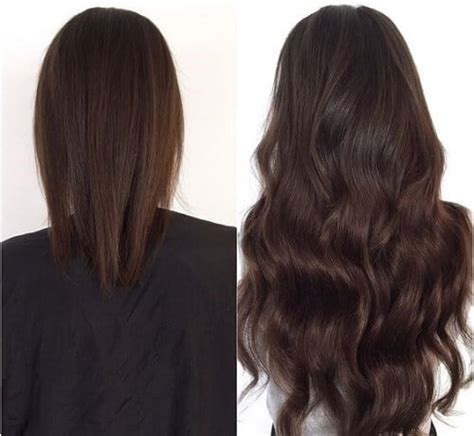 the shocking hair extensions before and after you have to the ultimate hair extension guide which one is for you