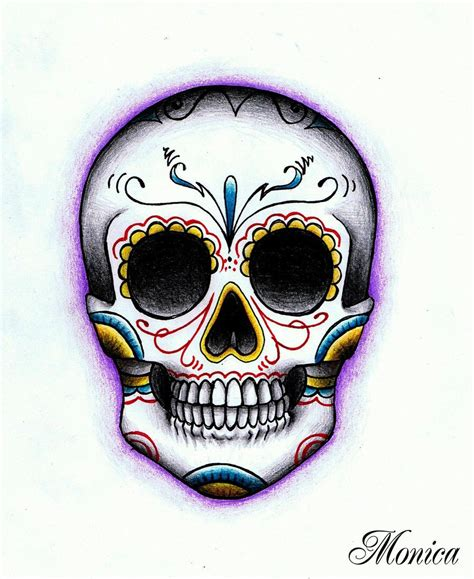 mexican skull by maga a7x on deviantart