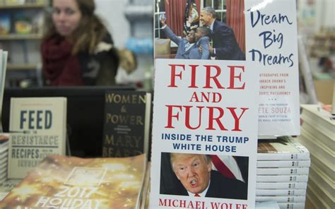 and fury inside the white house books like a child says defiant author radio new
