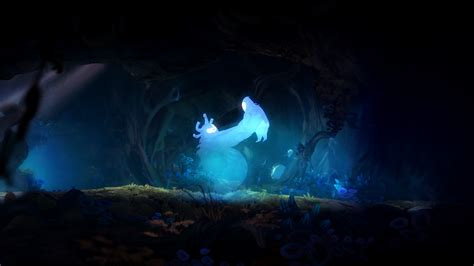 Black Ori ori and the blind forest definitive edition detailed