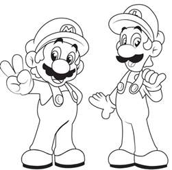 mario brothers coloring pages mario brothers coloring pages coloring pages
