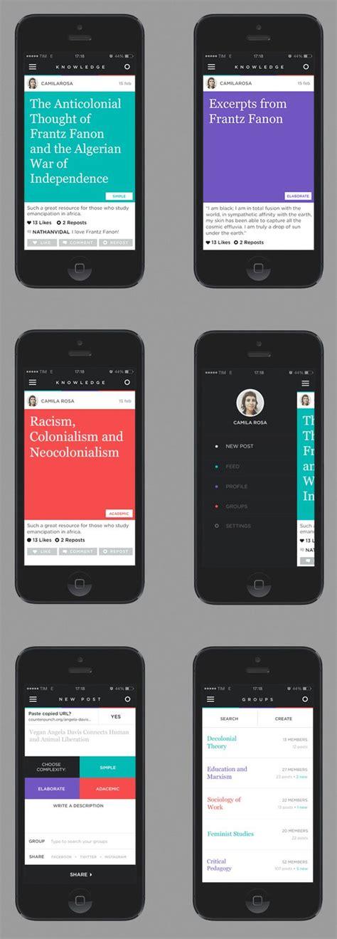 app design served 56 best images about ui sidebar on pinterest app