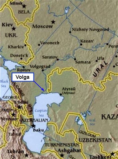 volga river map caspian sea god s geography