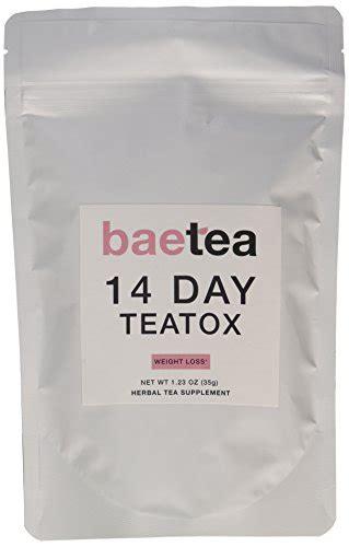 Baetea 14 Day Teatox Detox Herbal Tea Supplement by Baetea Weight Loss Tea Detox Cleanse Reduce