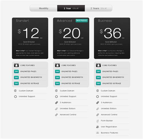 price template design free price table template the design work