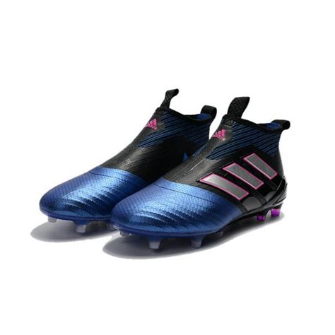 new 2017 adidas ace 17 purecontrol fg soccer cleats blue black white