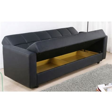 15 inspirations of leather sofa beds with storage