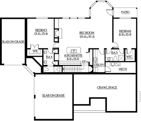 basement in law suite floor plans finished basement doubles as in law suite 23197jd