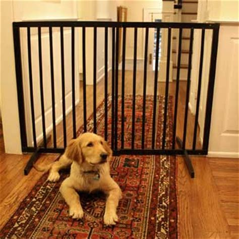 best puppy gate best gates for large dogs dogvills