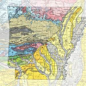 geologic maps of the 50 united states maps the o jays
